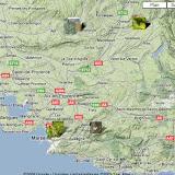 Localisation des photos en Provence