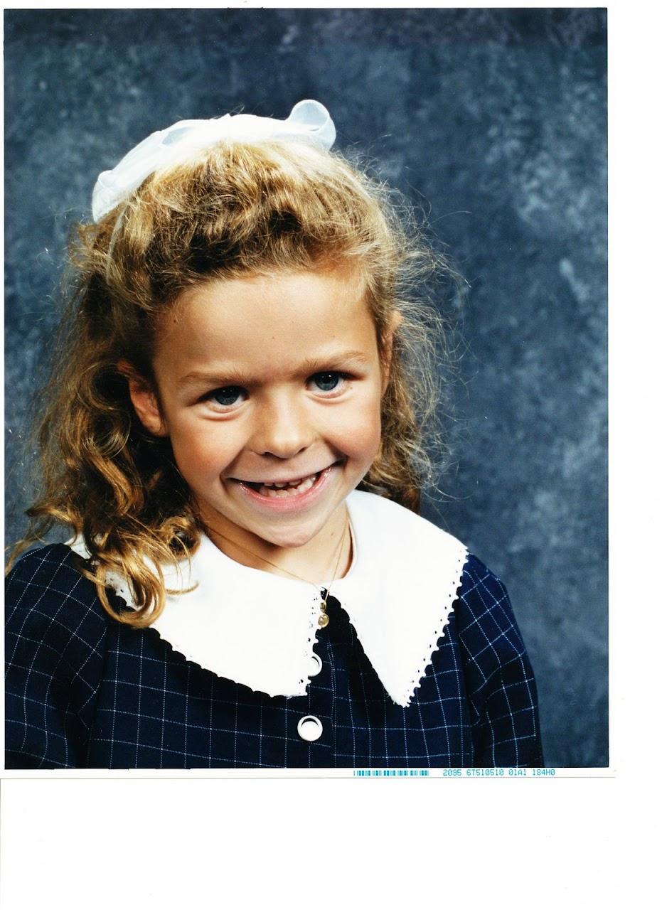 Courtney Kindergarten 2001