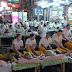Massen-Massage auf der Khao San