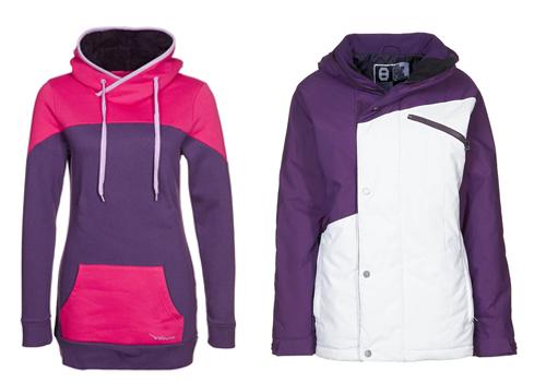 Nitro jas en Twintip hoodie