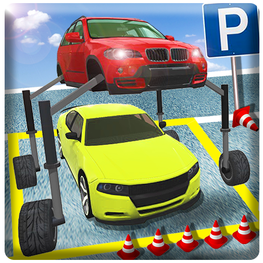 Elevated Car Parking Pro 2018 3D Driving Simulator