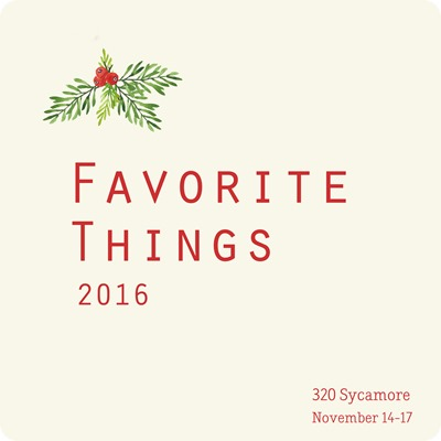 favorite things 2016