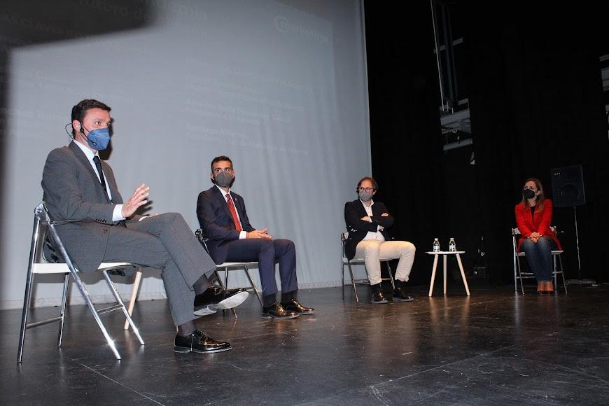 Javier Aureliano García, Ramón Fernández-Pacheco, David Baños y Maribel Sánchez.