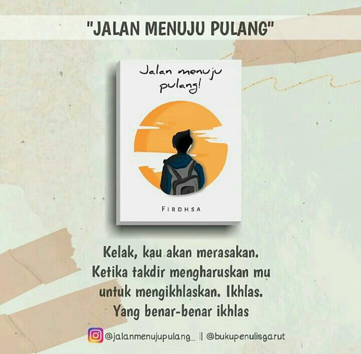 Buku Jalan Menuju Pulang, Fenny Firdha Salimi.