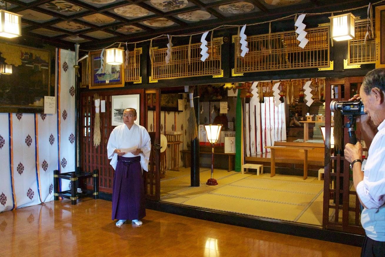 厳島神社(増毛町)