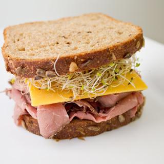 Roast Beef and Cheddar Sandwich