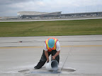 Fed Ex Terminal - Indianapolis Airport - Concrete Patching