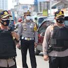 Jelang buka puasa, Kapolres cirebon kota. Kontrol pos pam celancang ops ketupat lodaya 2021 wilkum Polres Cirebon kota.
