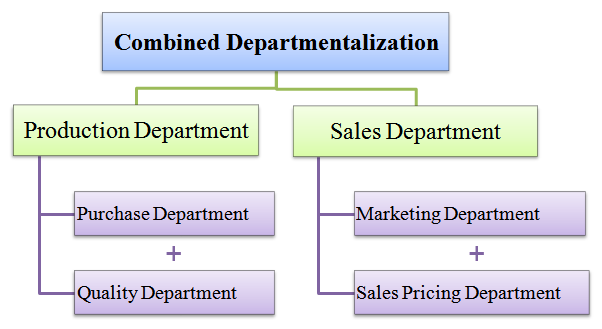 combined departmentalization