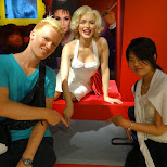 marilyn monroe at Madame Tussauds in Tokyo in Odaiba, Tokyo, Japan