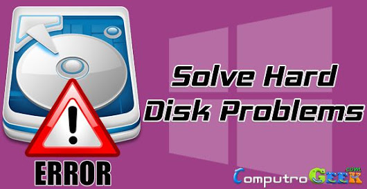 4 Ways to Fix Hard Disk Problems