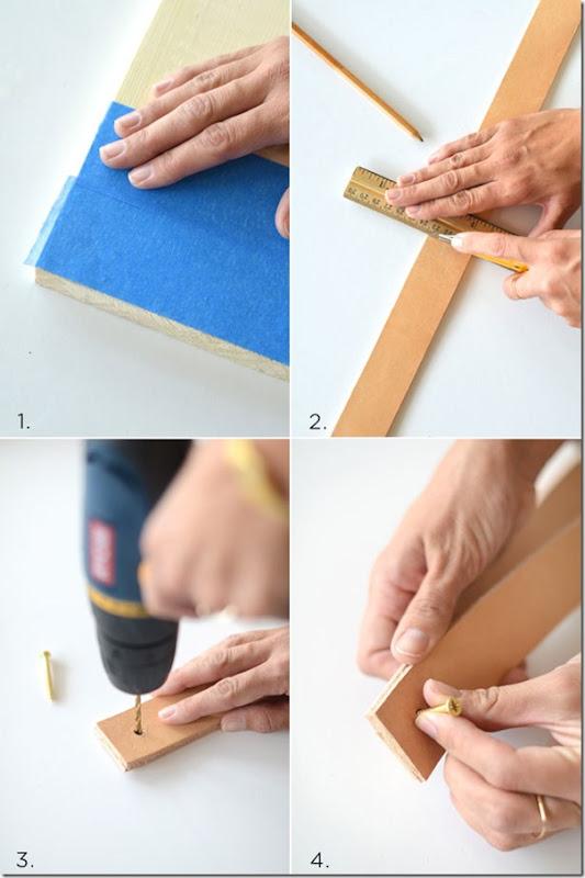 DIY Mensola in stile scandinavo fai da te