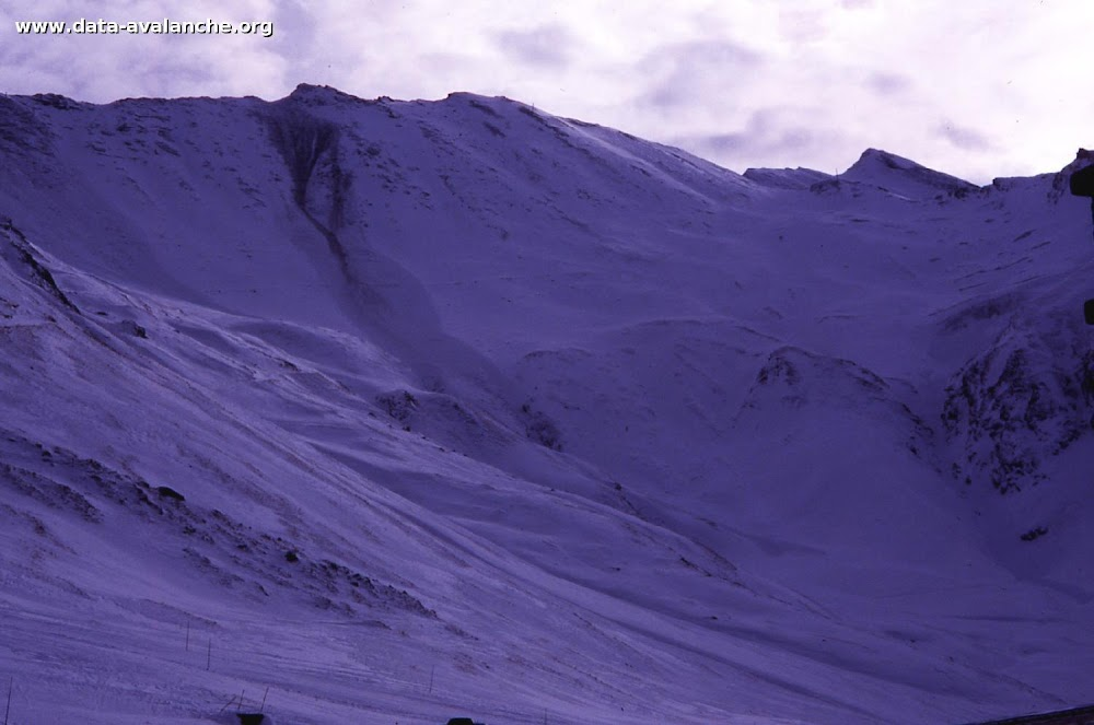 Avalanche Mont Thabor, secteur Pointe du Fréjus, entre la pointe du Fréjus et la pointe d'Arrondaz - Photo 1