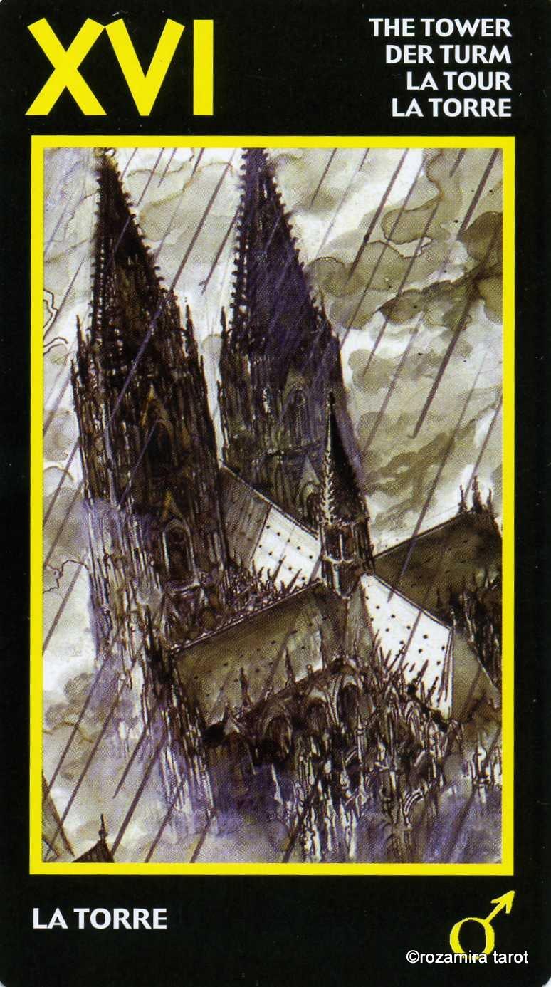 Аркан башня в таро манара