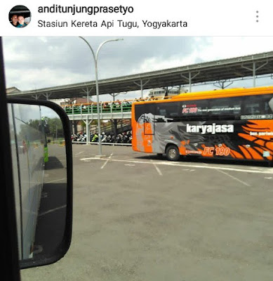 sewa bus full ac jogja