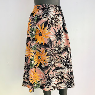 Sonia Rykiel Floral Skirt