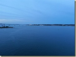 20151027_Newport from ship sunset (Small)