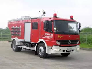 federal fire service vehicle