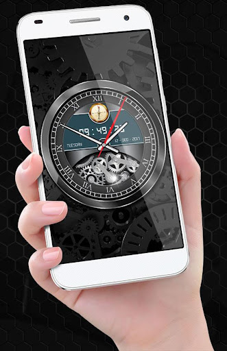 Luxury Watch Analog Clock Live Wallpaper Free 2018 2.3 screenshots 2