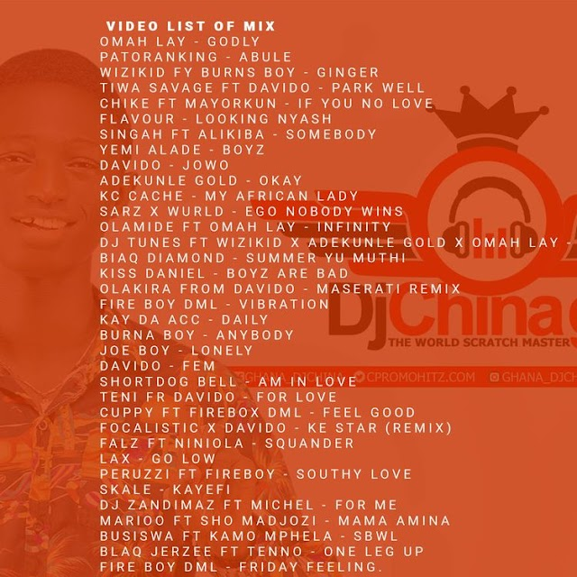 Dj China Ghana - Naija Afrobeats 2021 Full Mixtape