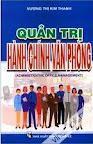 Quản trị hành chính văn phòng - Vương Thị Kim Thanh