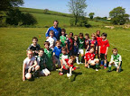 U9 squad training with former Cork City Captain Greg O'Halloran