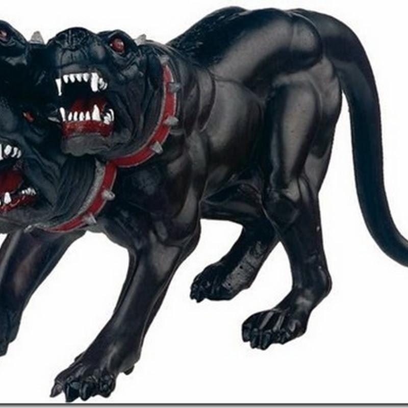 Cancerbero, el perro guardian del infierno