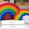 Collection of Color Learning Activities for Preschoolers