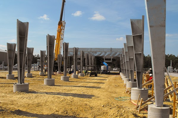 Systems Contracting Gas Cooler Structural Steel Erection