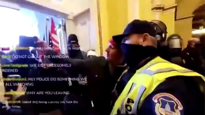 Two Capitol Police officers suspended and at least 10 more under investigation for alleged roles in riot