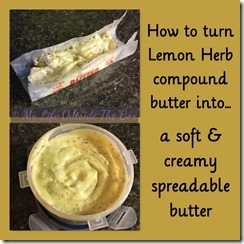 Lemon Herb Butter Spread