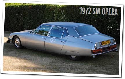 1972 Citroen SM Opera - autodimerda.it
