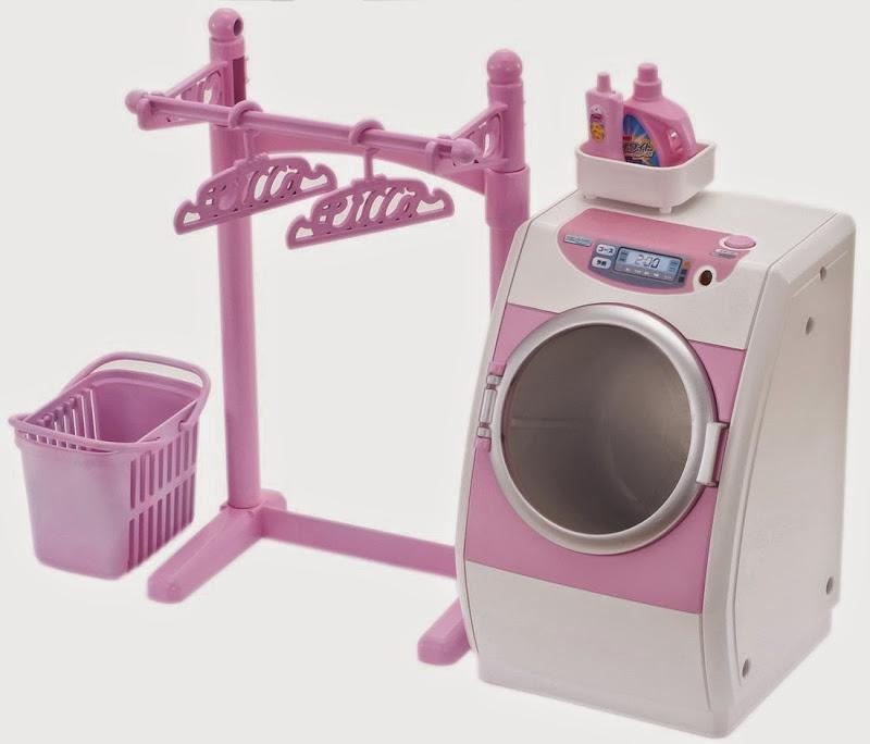 Máy giặt quần áo cho búp bê Licca