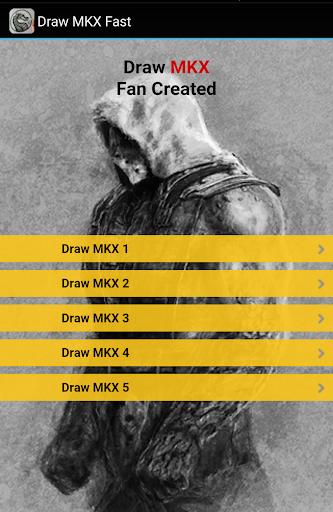 Draw MKX Kombat