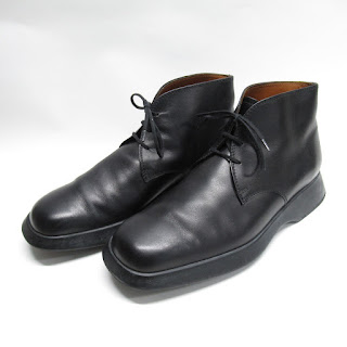 Tod's Black Leather Chukka Boots