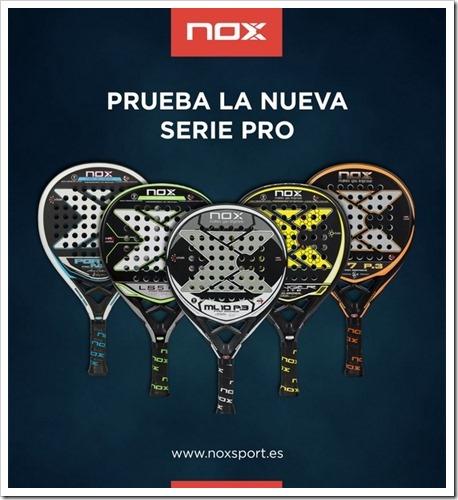 NOX lanza su nueva Colección de Palas 2016-2017 con una profunda renovación.