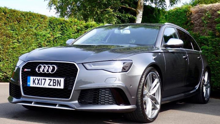 Prince Harry's 2017 Audi RS6 Avant.