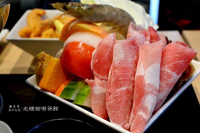 光蠟樹喫茶館起司牛奶豬肉鍋