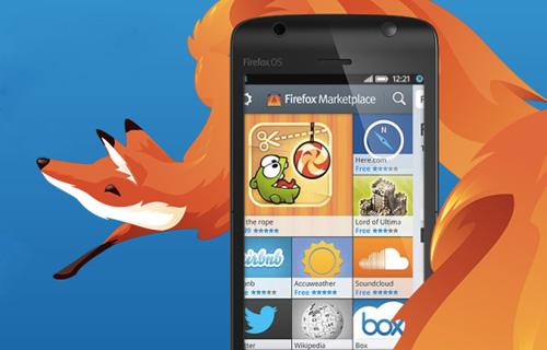 Điện thoại Firefox OS ra mắt vào tháng Sáu 2