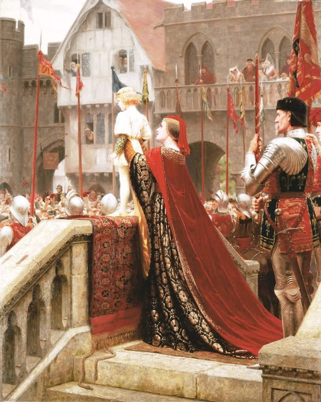 Edmund Blair Leighton -Kweeped from