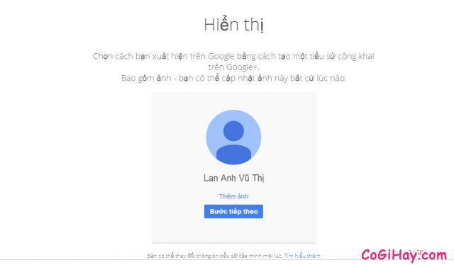 đăng ký gmail 6