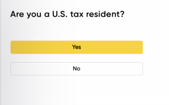 Tax Resident Question
