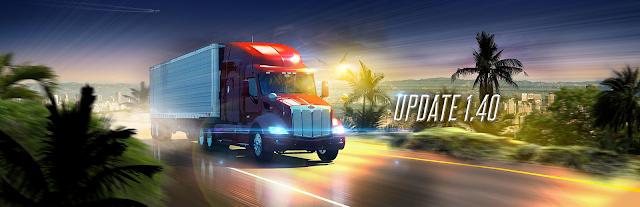 SCS SOFTWARE: American Truck Simulator: versão 1,40