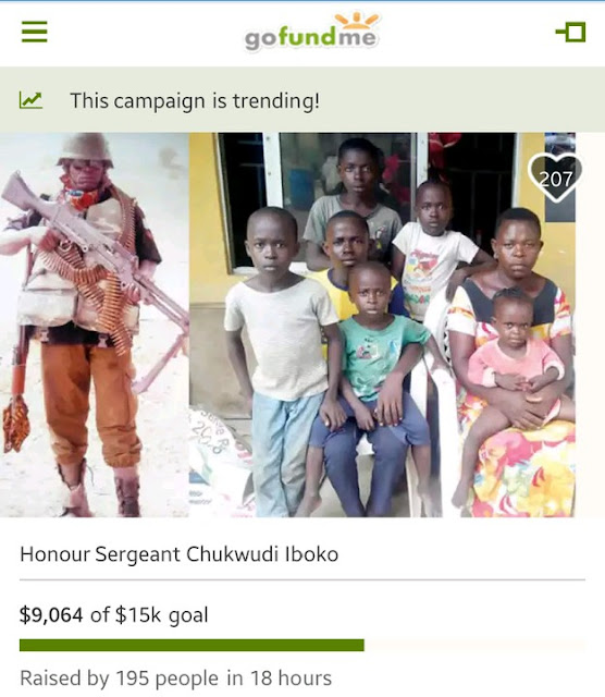 Nigerians Raise Over 3 Million Naira Within 24 hours In Online Campaign For Slain Policeman 1