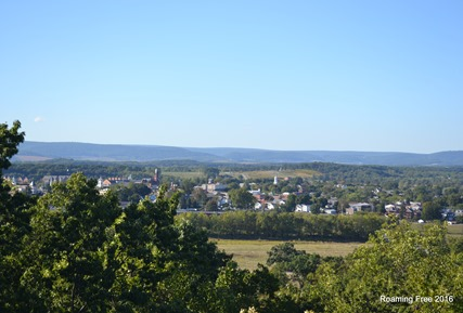 Gettysburg -- view from the observation tower