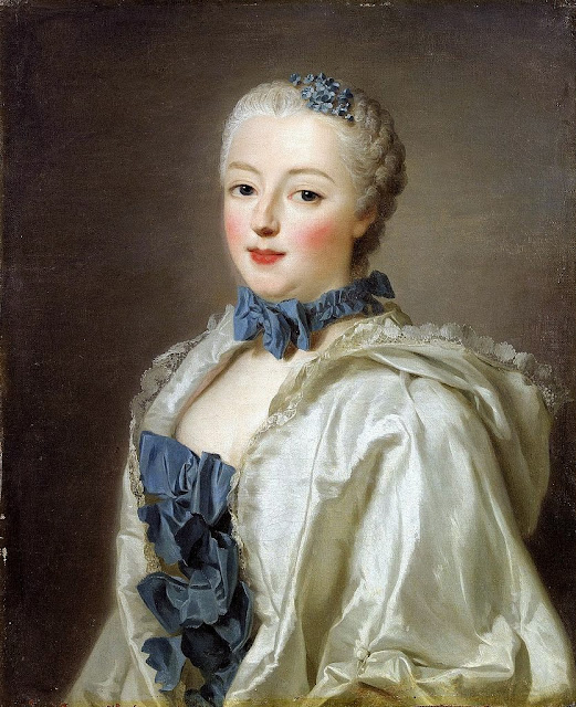 Alexander Roslin - Countess Françoise Marguerite de Grignan the daughter of Madame de Sévigné