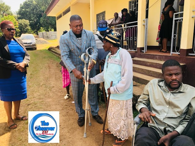 Bamenda II Council hands support to Persons with Disabilities