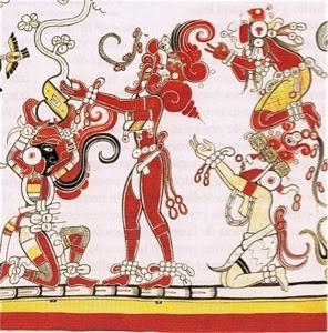 Extraordinarios Murales Mayas