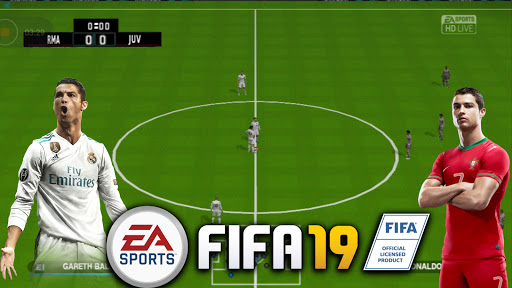 PES 2019 MOD FIFA 19 PS4 Camera PPSSPP High Graphics New