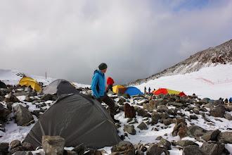 Photo: Kontrola projektu rozkładania namiotów.